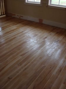 Solid wood floor Ash 11