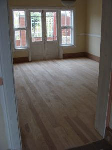 Solid wood floor Ash 2