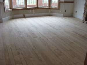 Solid wood floor Ash