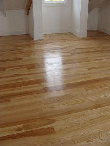 Solid wood floor Ash 4